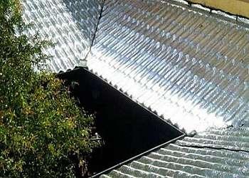 Aplicação de manta em telhados