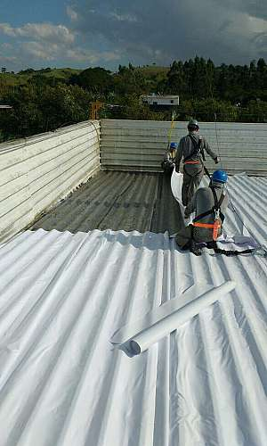 Reparo de telhado