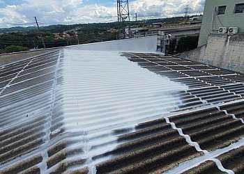 Impermeabilização de telhado de zinco